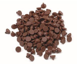 Кондитерские шоколадные капли чипсы