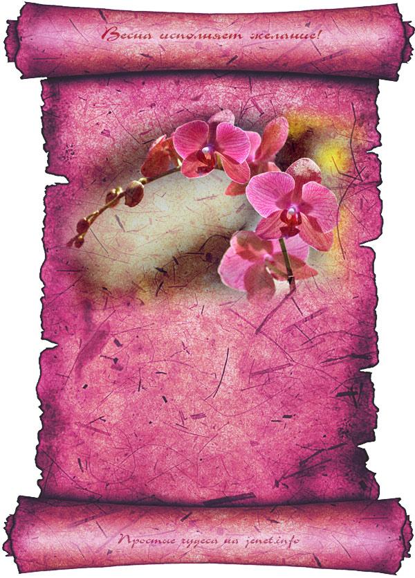 Весна исполняет желание в картинках