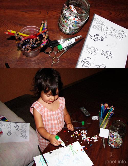Детская мозаика своими руками