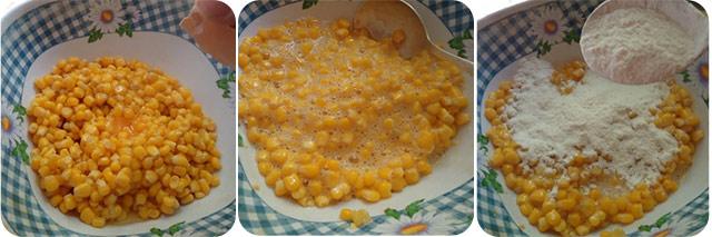 Оладушки с кукурузой на завтрак